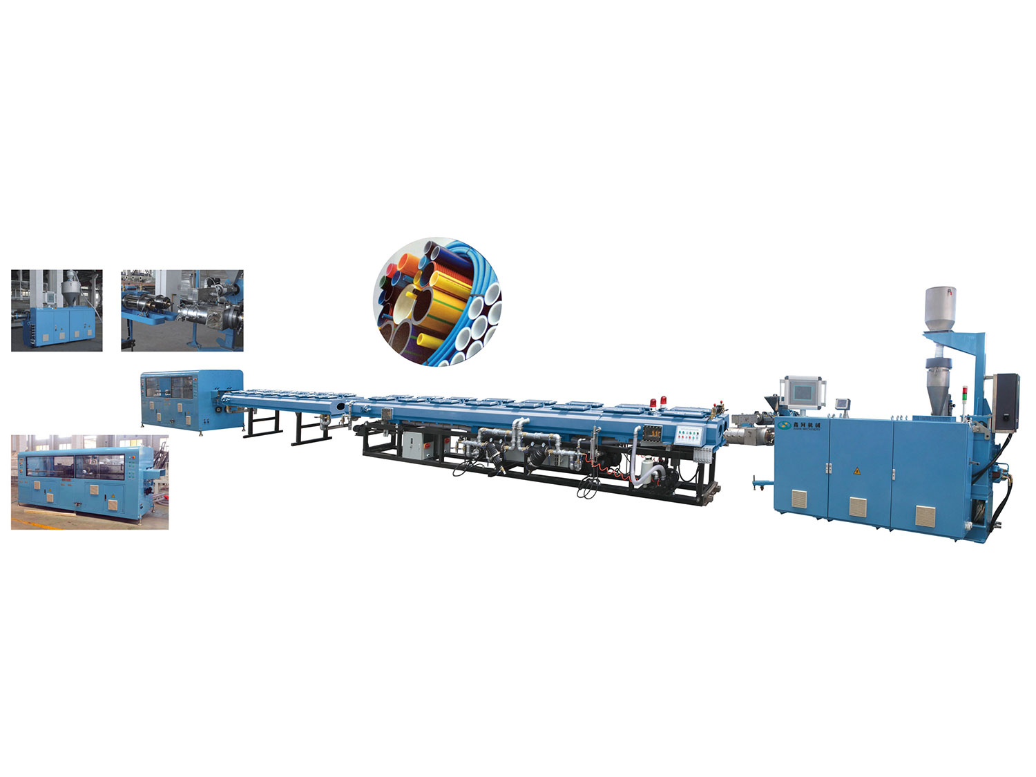HDPE Two Cavity Production Line
