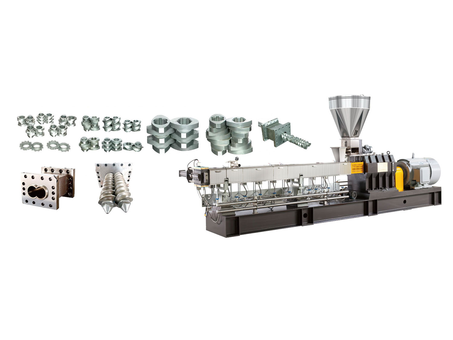 SHJ Series Parallel Twin Screw Extruder